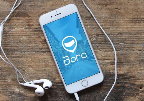Bora Mototáxis - Criação de logo